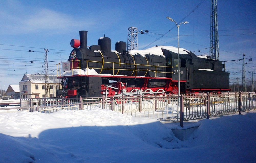 Winter Steam Train - St Petes to Moscow